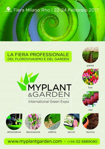 Locandina MY PLANT